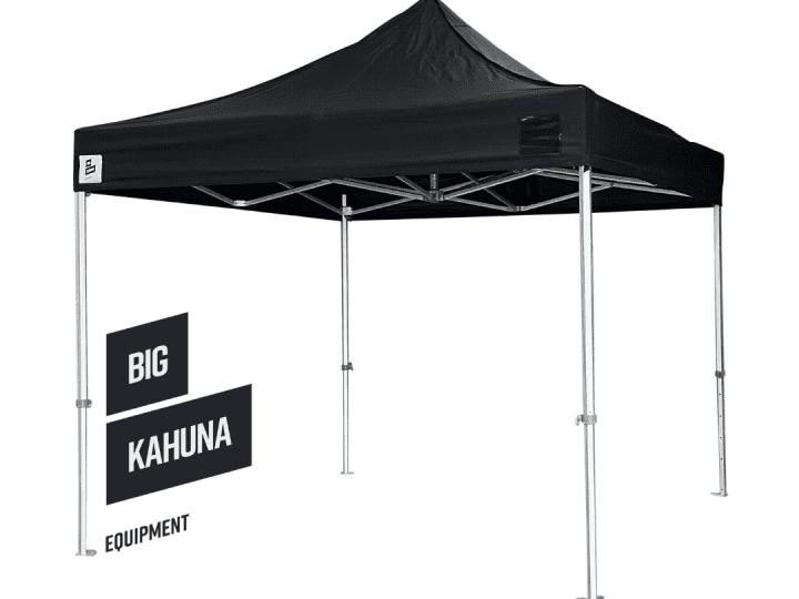 Big Kahuna pop up black gazebo 4.5m x 3m - 50 hex