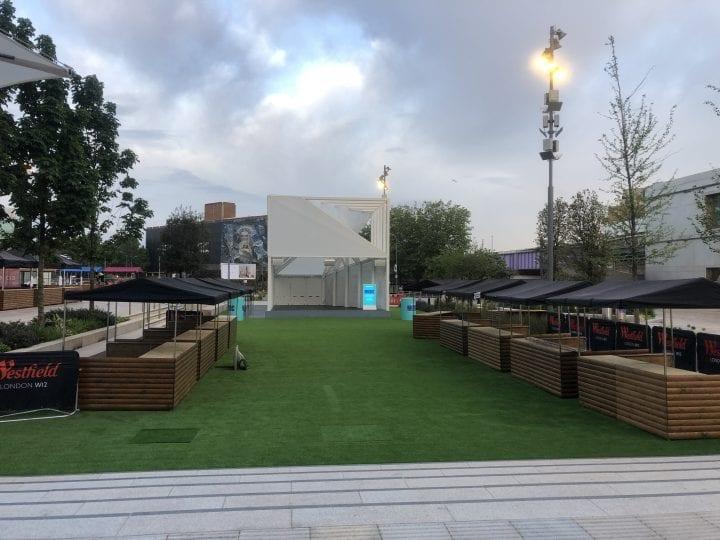 Nine big kahuna food festival stalls at an event