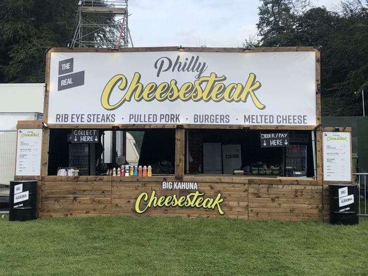 Big Kahuna - Philly Cheese steak stand